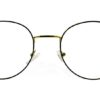 Golden Round Glasses 241114 8