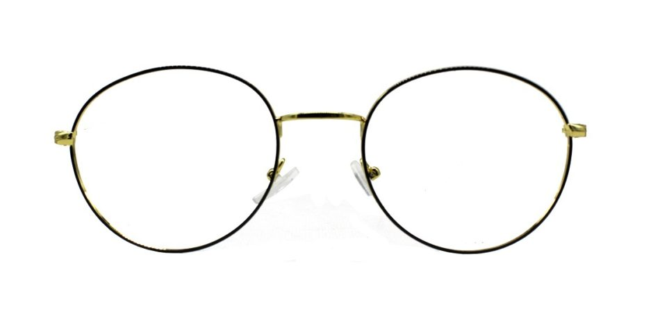 Golden Round Glasses 241114 4