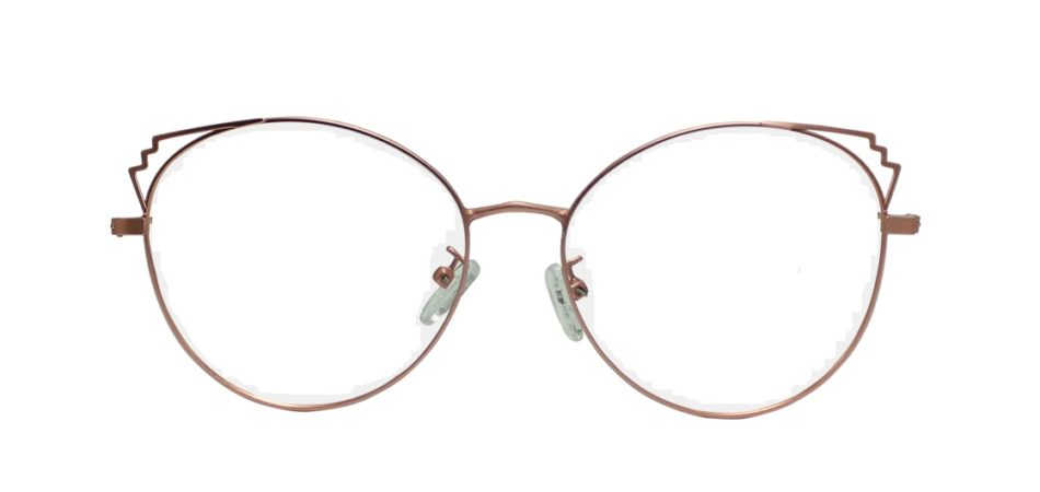 Pink Cat Eye Glasses Sf 9866 2