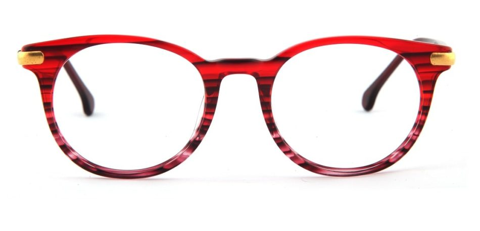 Red Round Glasses 110164 2