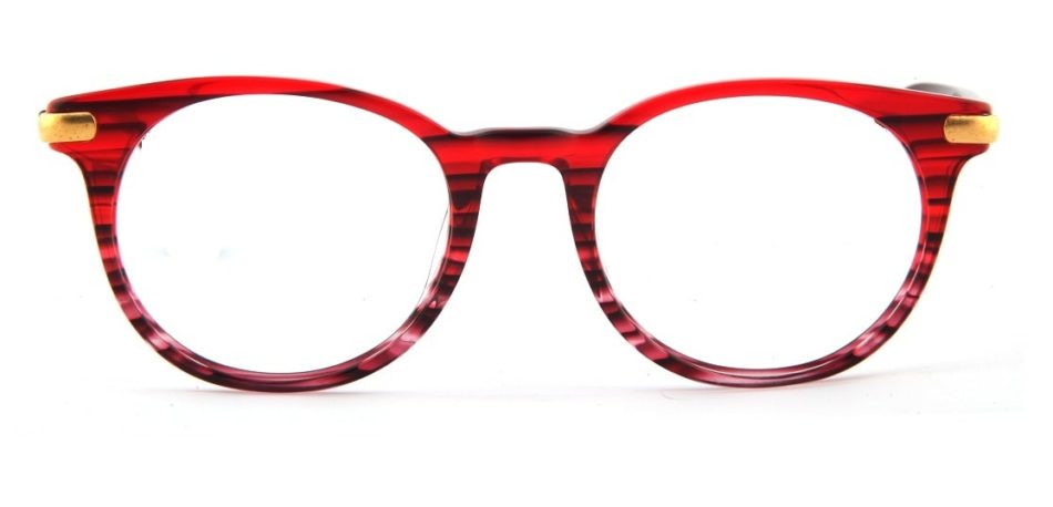 Red Round Glasses 110164 3