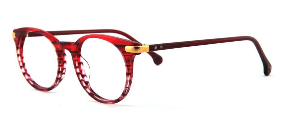 Red Round Glasses 110164 4