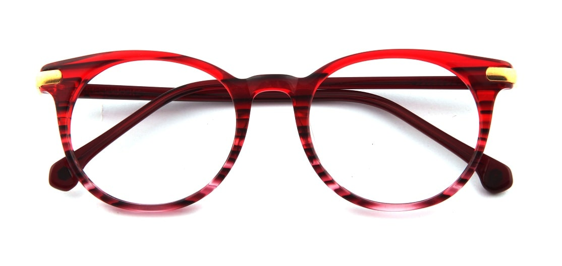Red Round Glasses 110164 1