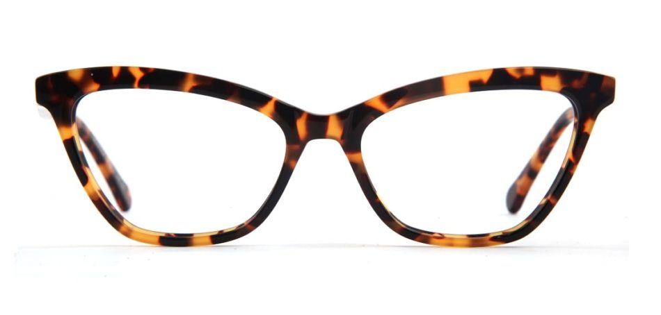 Brown Cat-eye Glasses 050826 3