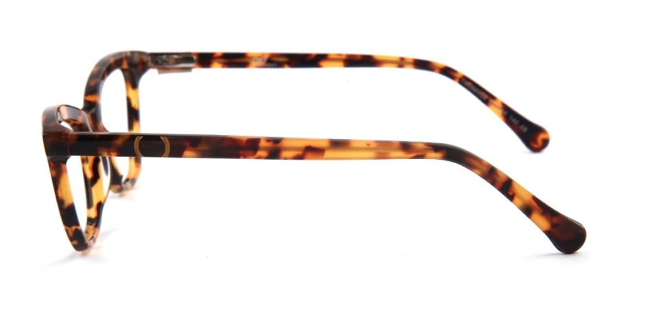 Brown Cat-eye Glasses 050826 2
