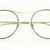 Golden Round Glasses 111416 5