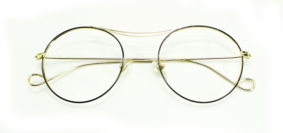 Golden Round Glasses 111416 1