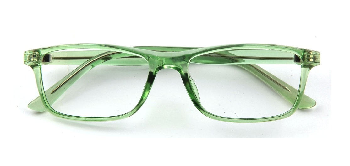 Green Rectangle Glasses 120149 1
