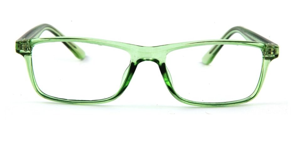 Green Rectangle Glasses 120149 2