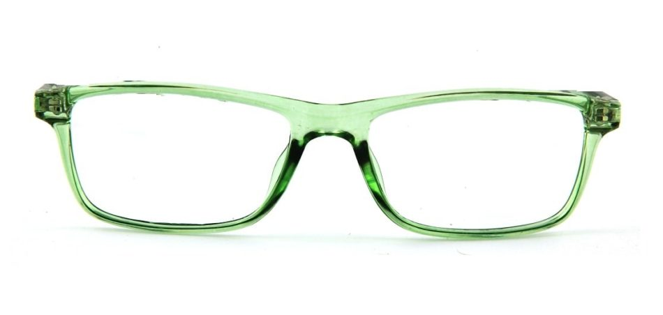 Green Rectangle Glasses 120149 3