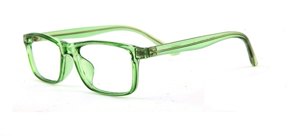 Green Rectangle Glasses 120149 4