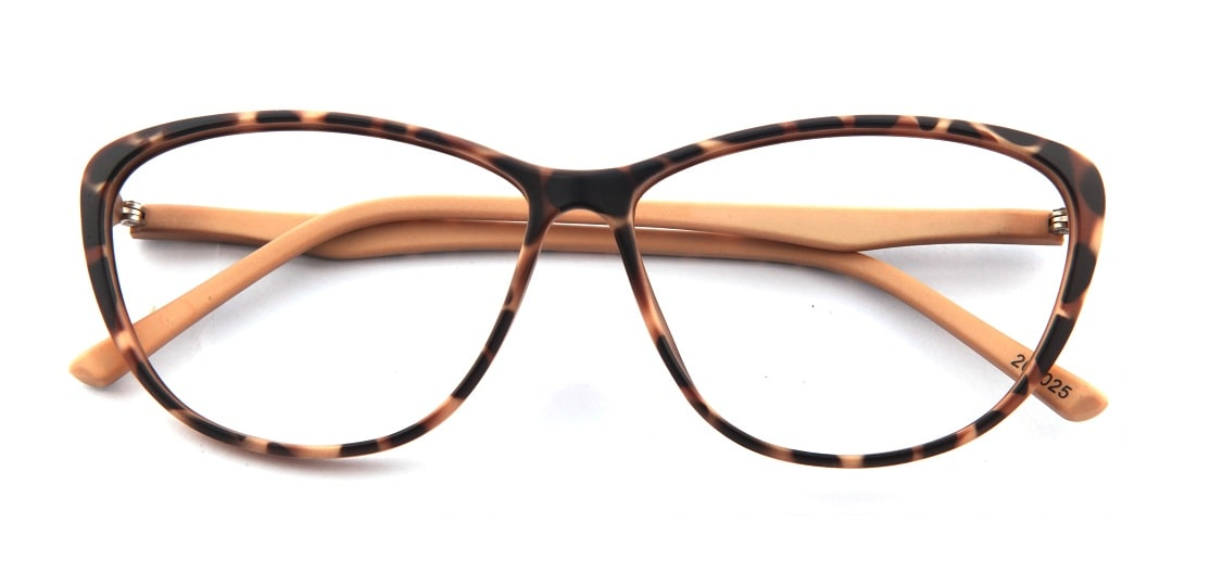 Brown Tortoise Cat-Eye Glasses 12013 1
