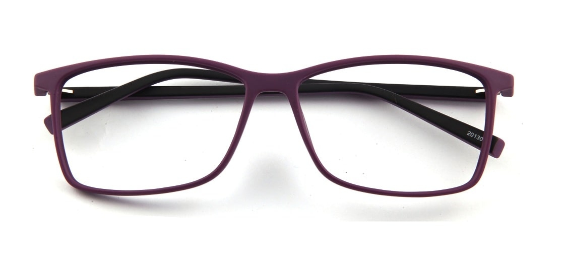 Purple Square Glasses 120157 1