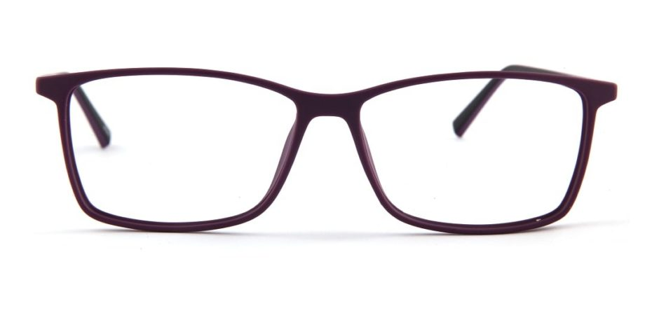 Purple Square Glasses 120157 2