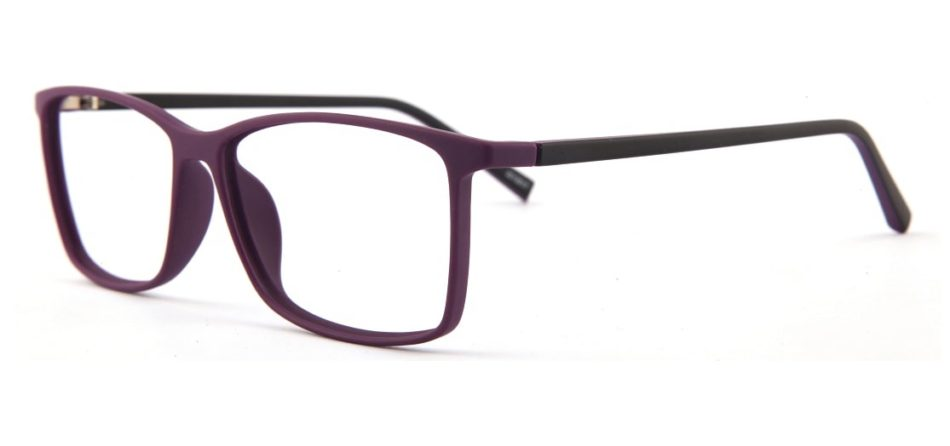 Purple Square Glasses 120157 4