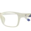 White Rectangle Glasses 191113 6