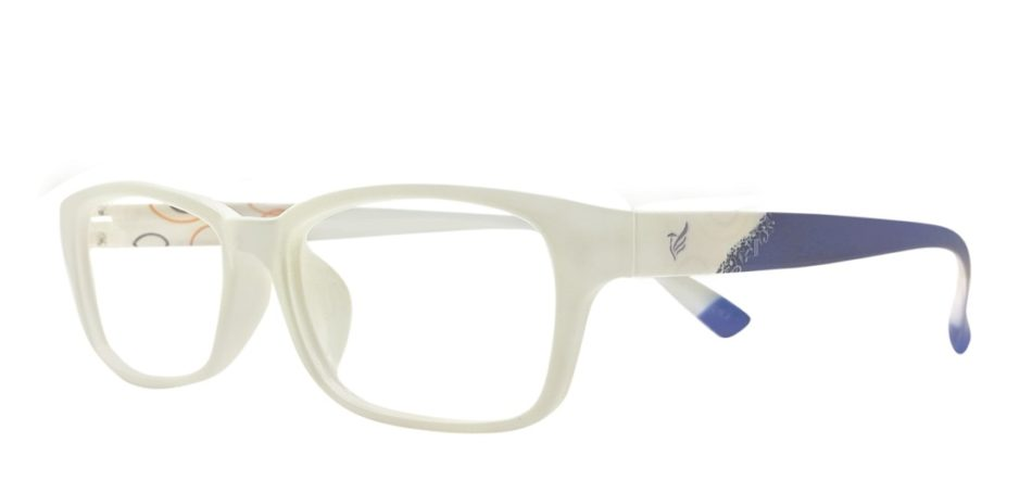 White Rectangle Glasses 191113 2