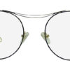 Golden Round Glasses 111416 6