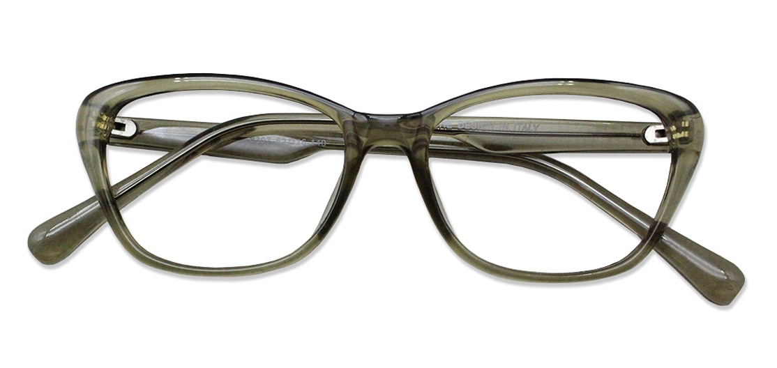 Gray Cat Eye Glasses 200426 1