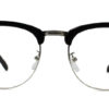Black Browline Glasses  200428 7