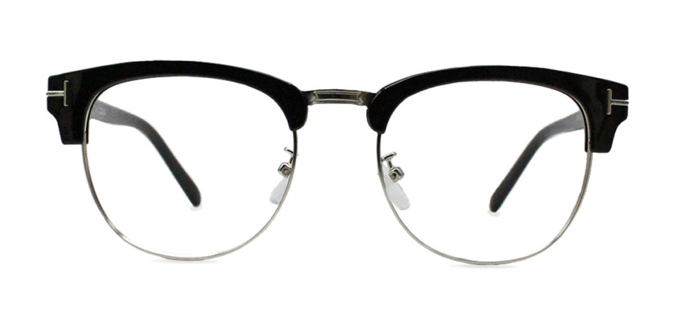 Black Browline Glasses  200428 3
