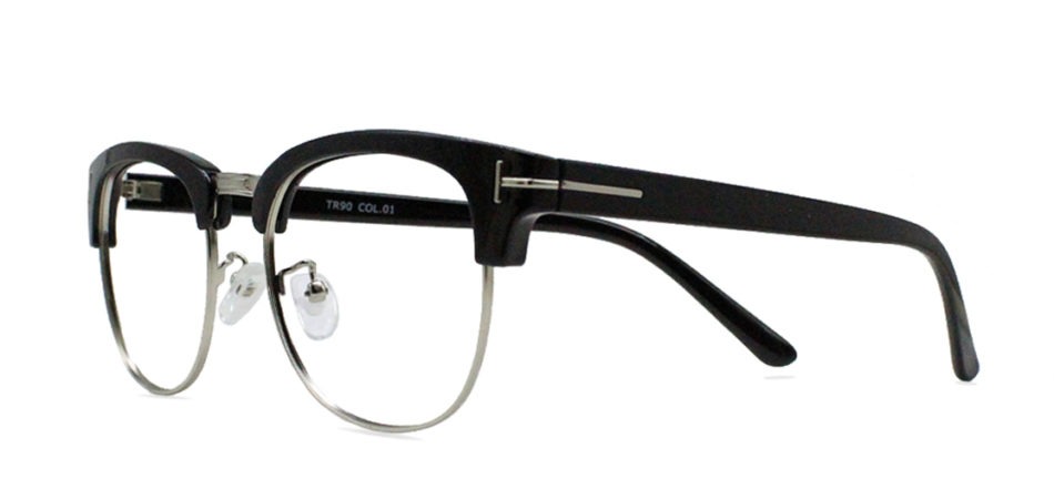 Black Browline Glasses  200428 2