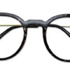 Black Round Glasses 200427 5