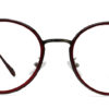 Red Round Glasses 200436 7