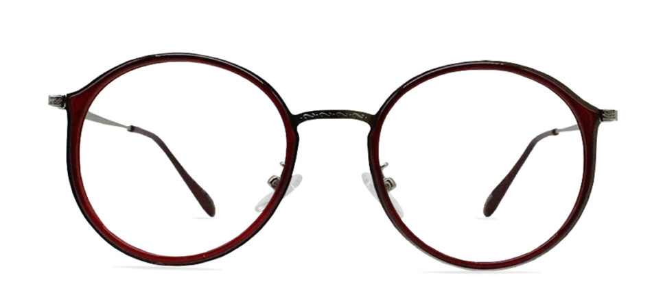 Red Round Glasses 200436 3