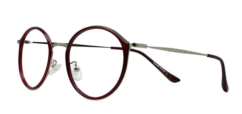 Red Round Glasses 200436 2