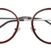 Red Round Glasses 200436 5