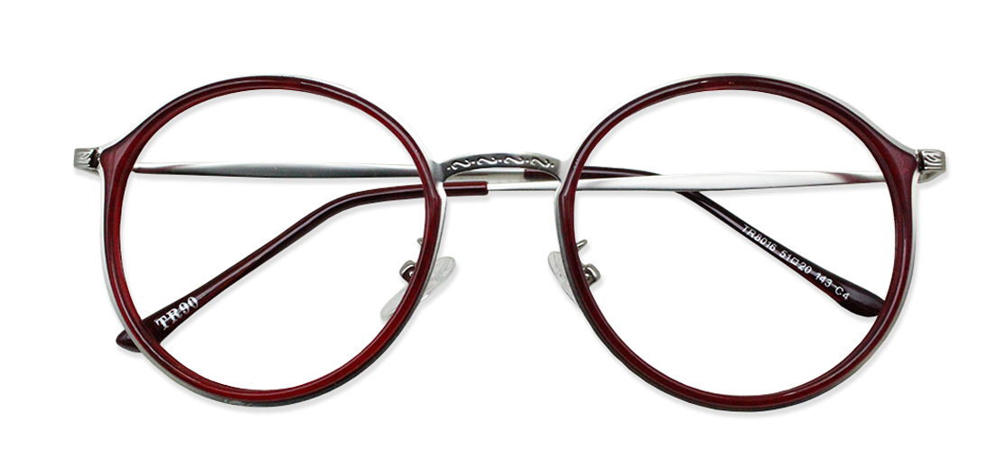 Red Round Glasses 200436 1