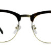 Brown Tortoise Browline Glasses 200435 7