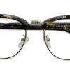 Brown Tortoise Browline Glasses 200435 5