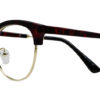 Red Tortoise Browline Glasses 200437 6