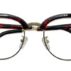 Red Tortoise Browline Glasses 200437 5