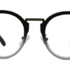 Black Round Glasses 200436 7
