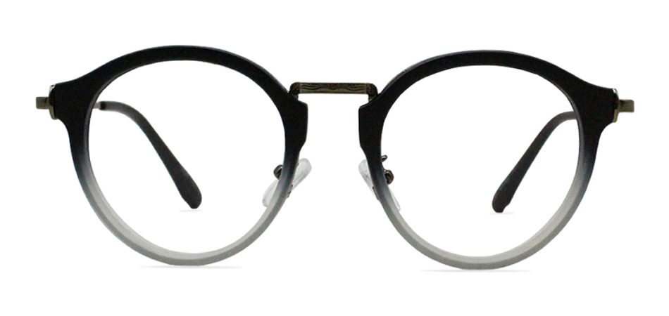 Black Round Glasses 200436 3