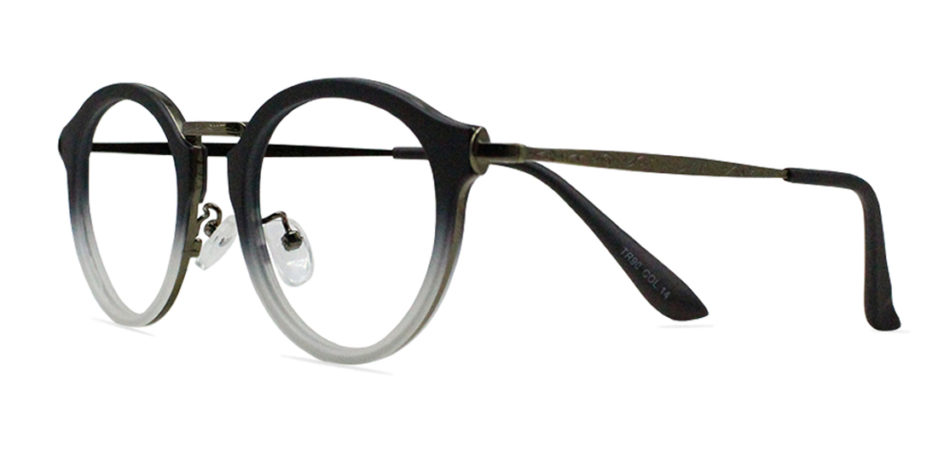 Black Round Glasses 200436 2