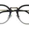 Black Round Glasses 200436 5