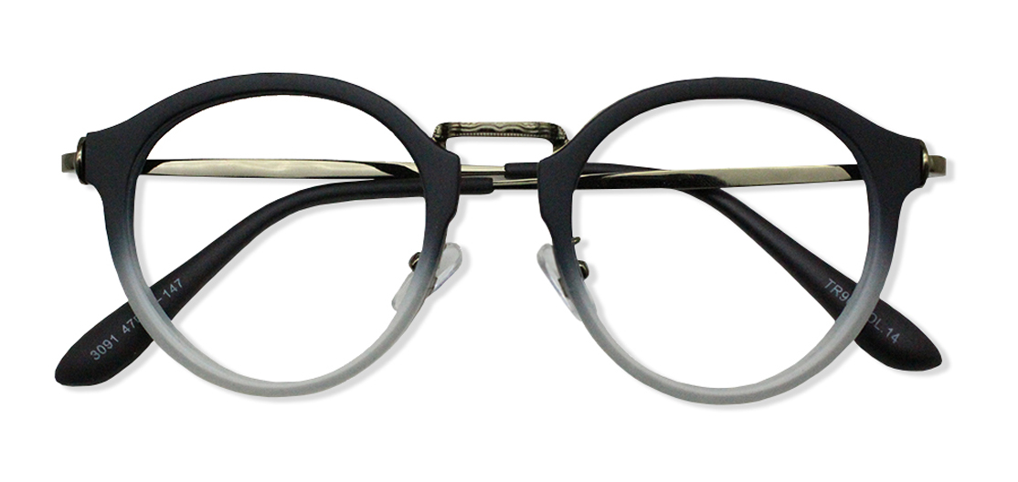Black Round Glasses 200436 1