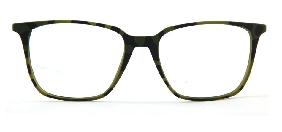 Green Tortoise Square Glasses 120135 4