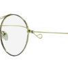 Golden Round Glasses 111416 7