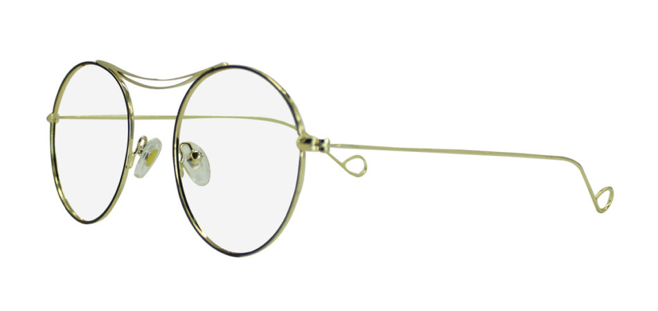 Golden Round Glasses 111416 3
