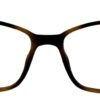 Brown Rectangle Glasses 211114 7