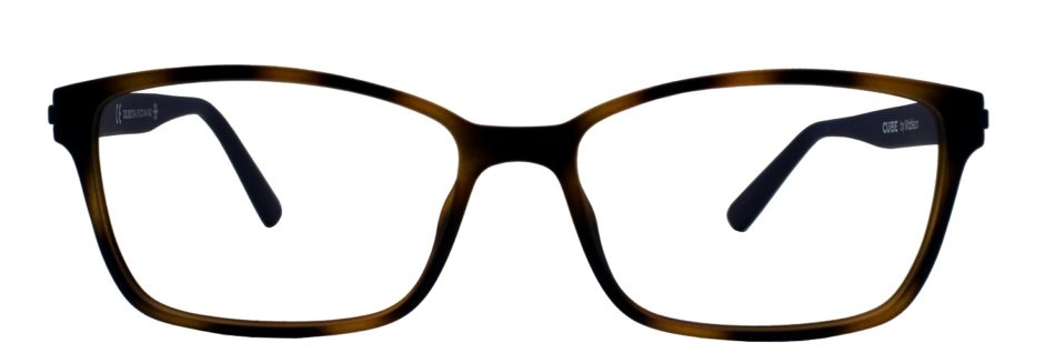 Brown Rectangle Glasses 211114 3
