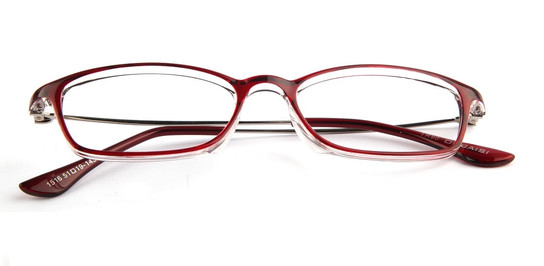 Red Translucent Glasses 010824 1