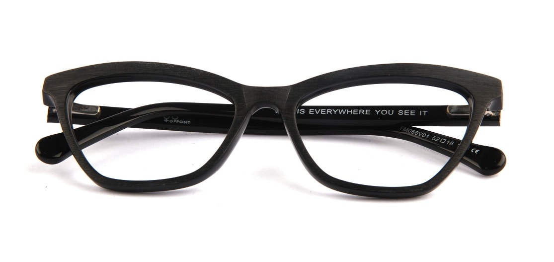 Black Cat-eye Glasses 010821 1