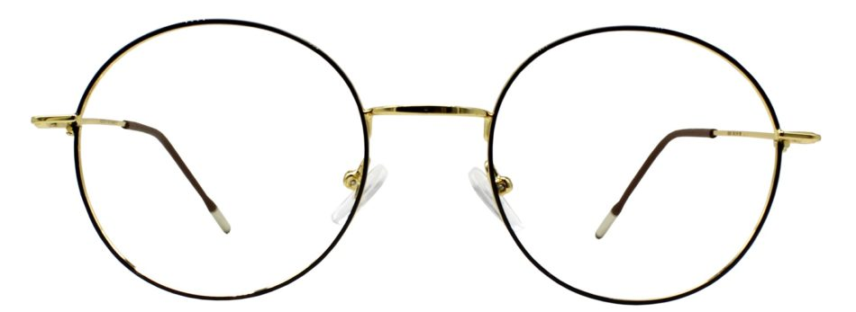 Golden Round Glasses 231117 2