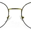 Golden Round Glasses 241114 7